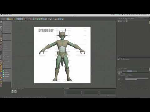Model a heroic character in Cinema 4D (Part 1)
