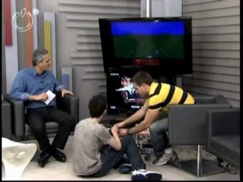 Bloco 2 Passado e Presente - Atari + Guitar Hero - Antonio Borba e Raylan Cross - 25/09/12 ÓTV