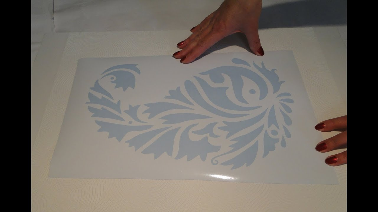 Как сделать в домашних условиях трафарет для стен своими руками