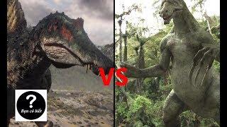 Spinosaurus vs Therizinosaurus, con nào sẽ thắng #14 || Bạn Có Biết?