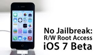 No Jailbreak Required: How To Gain Full Root Access On