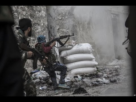 Intense Heavy Clashes Between FSA And ISIL As Rebel Infighting Continues | Syrian Civil War