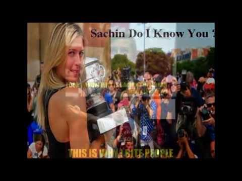 who is sachin tendulkar - maria sharapova