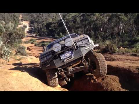 Hj61 wa day powerlines fun in mud