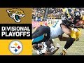Jaguars vs Steelers NFL Divisional Round Game Highlights