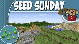 Minecraft seed sunday mc 1 7 10 ep97 desert spawn village loots