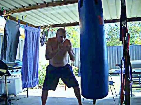 Punching Bag Gut Improvement.........