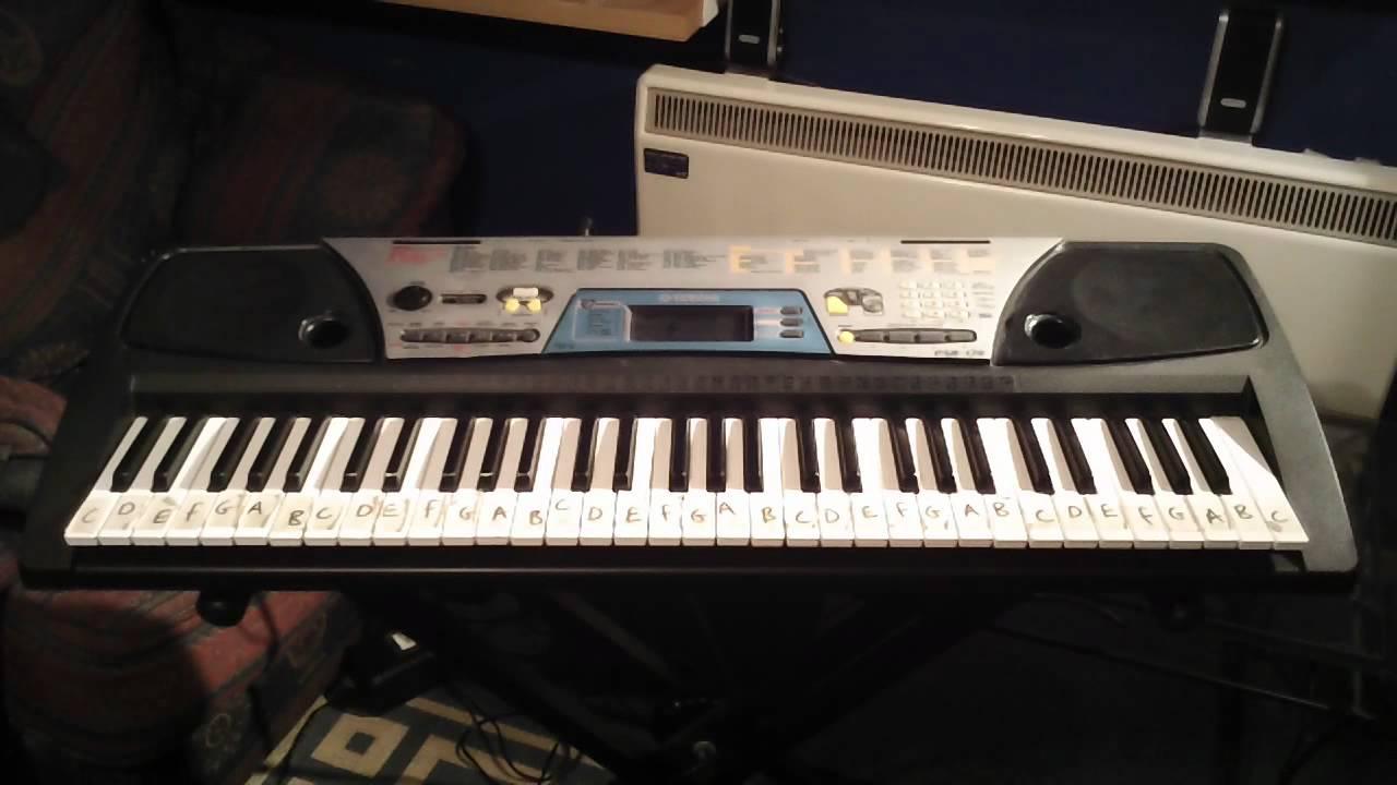 Yamaha psr 170 keyboard 100 demonstration songs part 1 5 for Yamaha keyboard parts