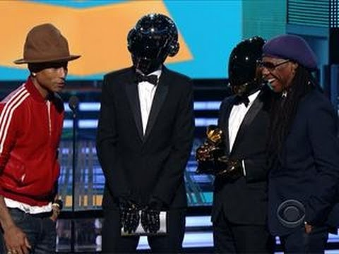 Daft Punk & Pharrell Williams - 2014 GRAMMY Winners Best Pop Duo / Group Performance