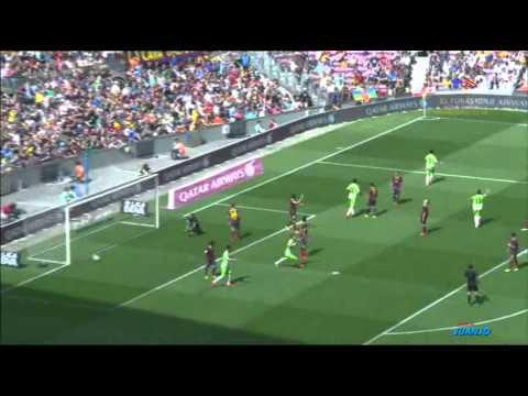 Amplio Resumen - FC Barcelona vs Getafe [2-2][03-05-2014][TV3]