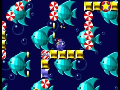 Sonic the Hedgehog - Sega Genesis - fourth emerald - User video