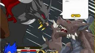 Adventure Quest Dragon King and Nightbane view on youtube.com tube online.