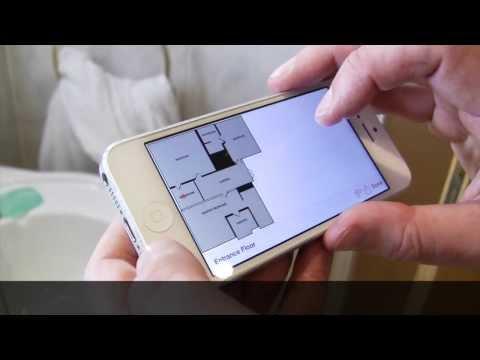 Vídeo Aplicativo calcula tamanho de cômodos da casa