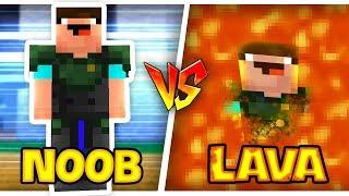 Troll NOOB Bằng DUNG NHAM  - LAVA Trong Minecraft!!!