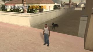 Mod Do Cachorro (pastor Alemão) Para GTA San Andreas