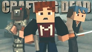 "Minecraft Crafting Dead - ""Heading South"" #2 (The Walking Dead Roleplay S8)"