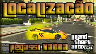 "GTA V SuperCar Location ""Pegassi Vacca"" ( Tutorial"