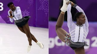The skater of the French Olympic figure had a change of costumes and was epic.