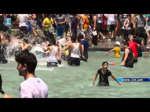 Վարդավառի տոնը Երևանում