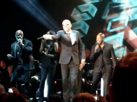 George Michael - Symphonica tour Live Birmingham - Speech & Medley Sep 2012