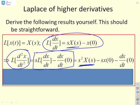 Laplace 3 - derivatives