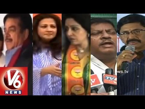 LS Polls Results 2014 : Cine Glamour Spice Up the Election Environment