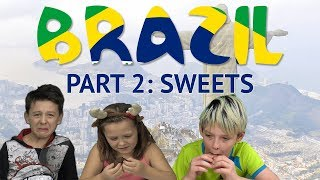 German Kids try Brazilian Sweets (Part 2)