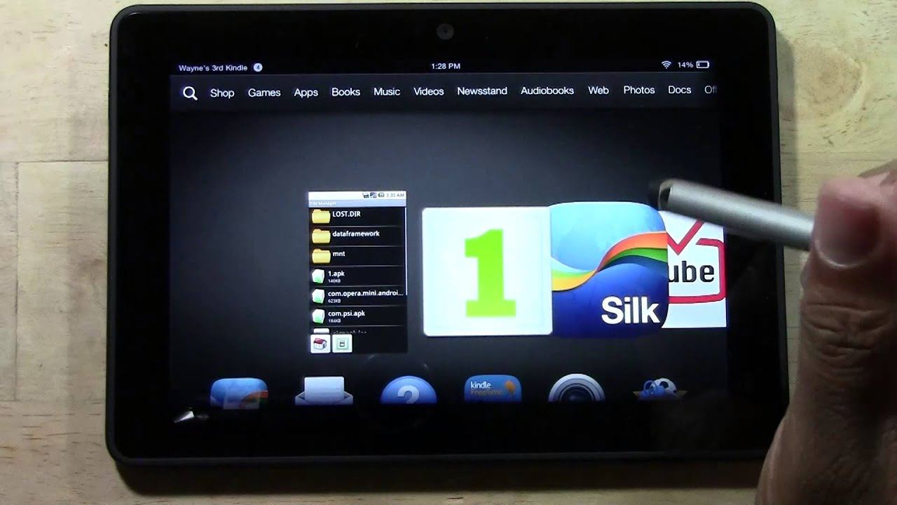Kindle Fire Screensaver App