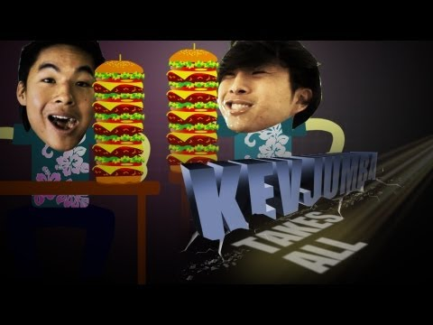 KevJumba Takes on Competitive Eating w/ Justin Chon