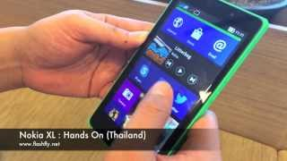 Nokia XL : Hands On (Thailand)