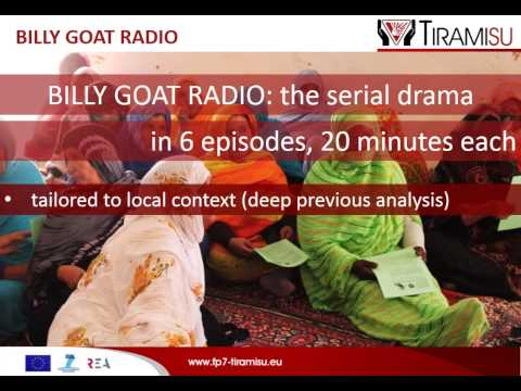 Billy Goat Radio in-field evaluation, Saharawi refugee camps, Algeria