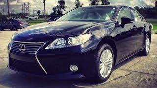 2014 Lexus ES 350 Start Up, Exhaust, Full Review