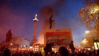 """مظاهرات في مدن فرنسية للتنديد بقانون""""الأمن"""