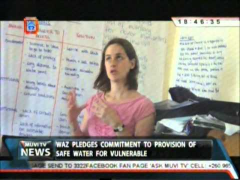 Muvi TV Zambia report on SHARE-funded Undoing Inequity project