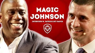 Magic Johnson Debates LeBron vs Jordan