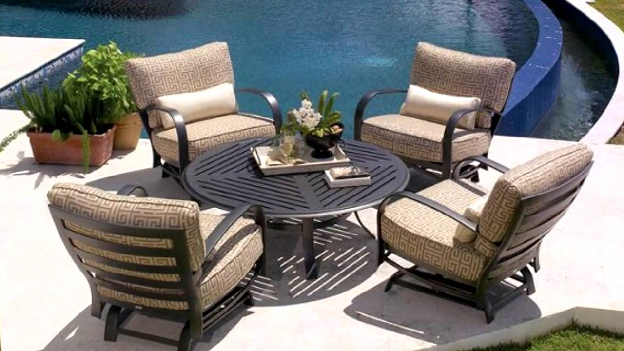 Cheap patio furniture youtube for Affordable patio furniture