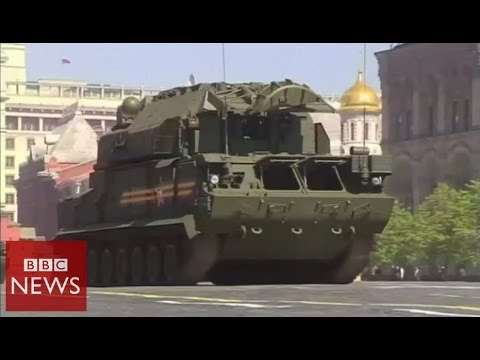 Russia's military might on show during Victory Day parade - BBC News