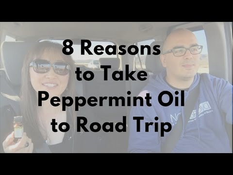 8 Reasons to take Peppermint Essential Oil to Your Road Trip - Massage Monday #325