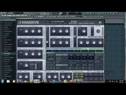 Tutorial - NI Massive - How to create the typical Deadmau5 pluck synth