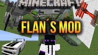 Minecraft 1.7.10/1.7.2 Como Descargar E Instalar Flan´s