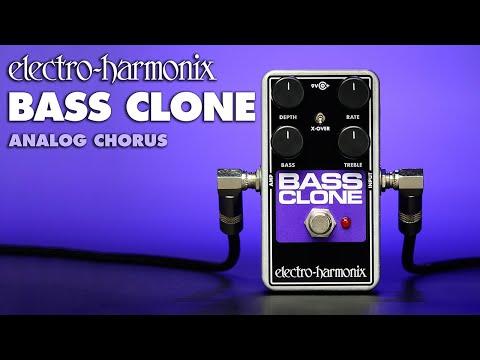 Electro Harmonix Bass Clone Chorus Pedal for Bass