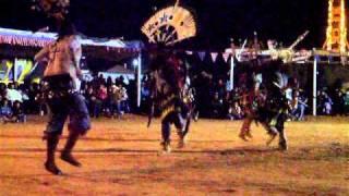 Western Navajo Fair 2010 Apache Crown Dancers 1