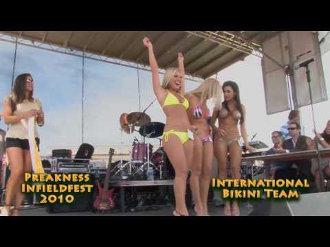 Winners of 2010 Preakness Infieldfest Bikini Contest