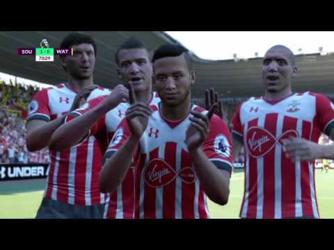 Road to BPL Fifa 17 Southanmpton Career Mode without any Transfers / FIRST BIG CHALLENGE