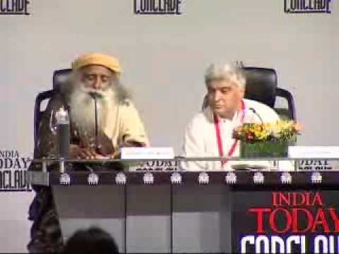 Sadhguru Jaggi Vasudev speech at India Today Conclave 2008 - part3
