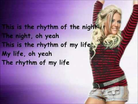 Cascada- Rhythm Of The Night (lyrics) [HD]