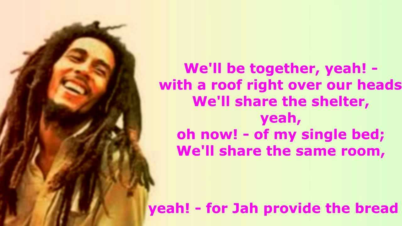 Is this Love - Bob Marley Lyrics Video - YouTube
