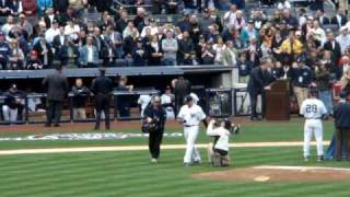 New York Yankees - Opening Day 2010  - Ring Ceremony