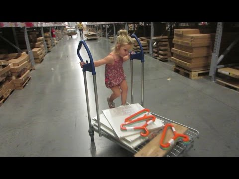 UH OH KINZ AT IKEA WITH US! │7•20•14 DAILY VLOG