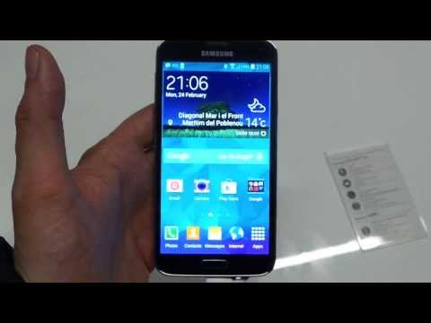 Samsung Galaxy S5 hands-on demo MWC 2014